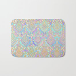 Jade & Blue Enamel Art Deco Pattern Bath Mat