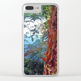 Stripping Beauty Clear iPhone Case