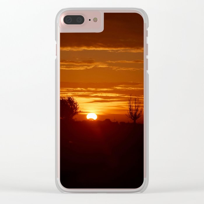 City Sunlight Clear iPhone Case