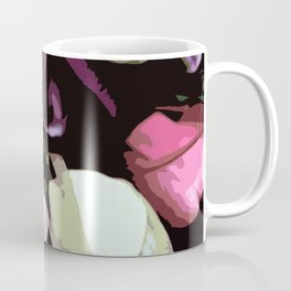 Abstract Tulips Coffee Mug