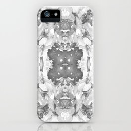 Abstract 20 Gray iPhone Case