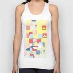 WHOFARTED? Unisex Tank Top