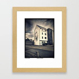 Freedom of Thoughts Framed Art Print