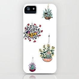 Hanging Plants iPhone Case