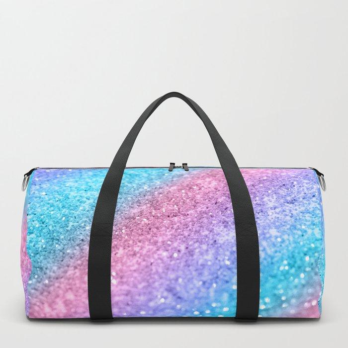 Rainbow Princess Glitter #2 #shiny #decor #art #society6 Duffle Bag