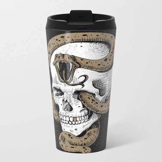 The Dark Mark of You-Know-Who Metal Travel Mug