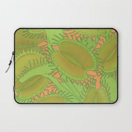 Free Hugs (Venus flytrap - Orange) Laptop Sleeve