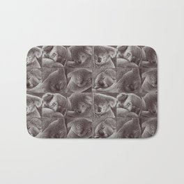 Sleepy Koala Bath Mat