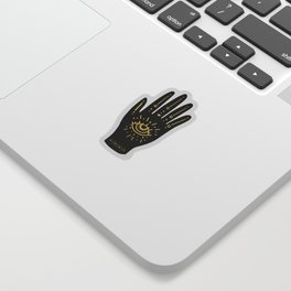Evil Eye Hand Sticker