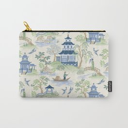 Chinoiserie Carry-All Pouch