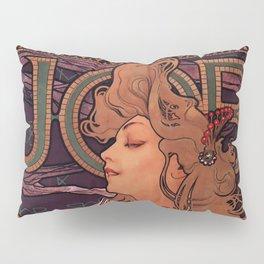 Alphonse Mucha Art Nouveau Pillow Sham