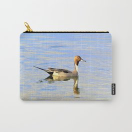 Handsome Pintail  Duck by Reay of Light  Carry-All Pouch