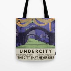 Undercity Classic Rail Poster Tote Bag