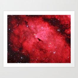 Emission Nebula Art Print