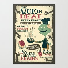 The Wok In Dead (v.2) Canvas Print