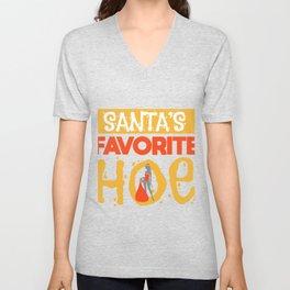 Sexy Christmas Santa Claus Slut Gift Unisex V-Neck