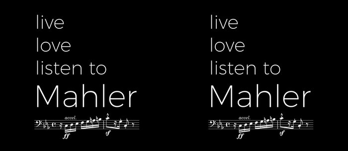 Live, love, listen to Mahler (dark colors) Coffee Mug