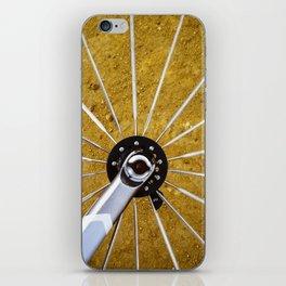 Bike Wheel iPhone Skin