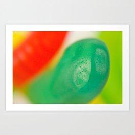 Gummi worms 3 Art Print