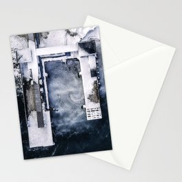 Bird's-Ice View Stationery Cards