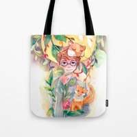 gem Tote Bags featuring Gem by Ozora