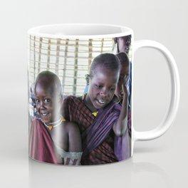 Children Maasai 4239 Ngorongoro Tanzania Coffee Mug