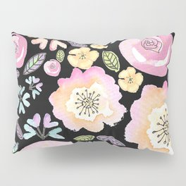 Flower power Floral print pattern Pillow Sham
