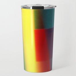 Colored blured pattern Travel Mug
