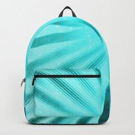 Intersecting-Aqua Backpack