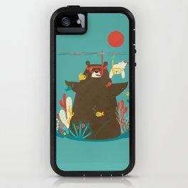 Snorkelling iPhone Case