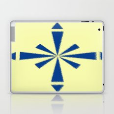 Blue Asterisk Laptop & iPad Skin