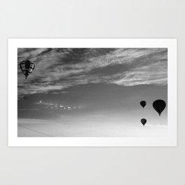 Balloon Bash 2012 Art Print