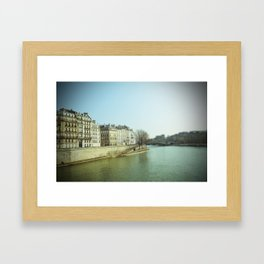 Ile Saint-Louis Framed Art Print