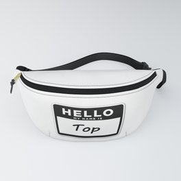 Top Fanny Pack