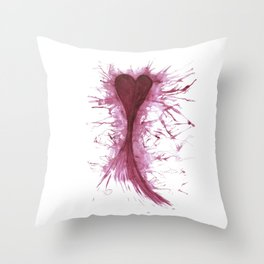 It's who you know Throw Pillow