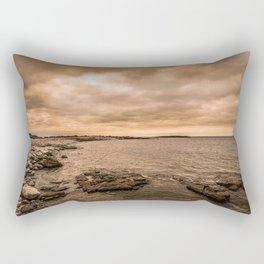 Sea Sky & Stone Rectangular Pillow