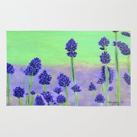 lavender Area & Throw Rugs featuring Lavender by maggs326