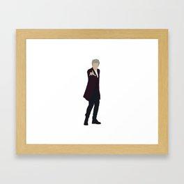Twelfth Doctor: Peter Capaldi Framed Art Print