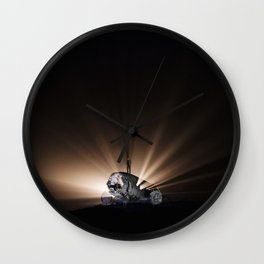 Iceland Plane Wall Clock
