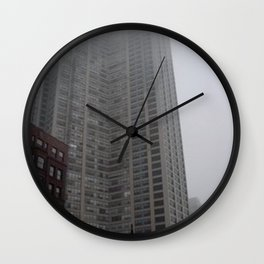 Chicago Fog Wall Clock