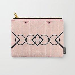 Art Deco - Peach Terracotta Carry-All Pouch