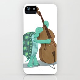 Bass Turtle iPhone Case