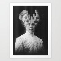 Clairvoyance / Extrasensorial (2015) Art Print