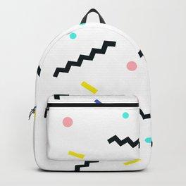 Memphis pattern 59 Backpack