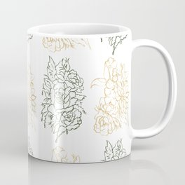 Up To Their Ears In Roses Coffee Mug