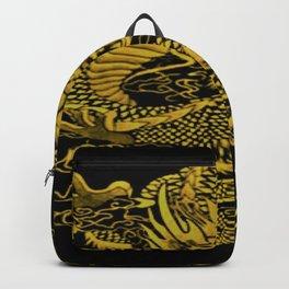 Epic Dragon Yellow Backpack