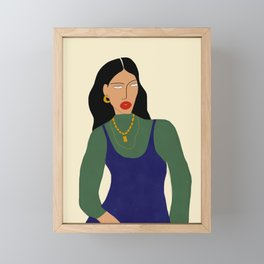 Bella Framed Mini Art Print