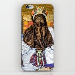 Tuareg elder, Timbuktu, Mali iPhone Skin