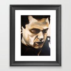 Young Johnny Cash Framed Art Print