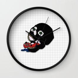 Asphyxiate All Your Pain Away. Wall Clock